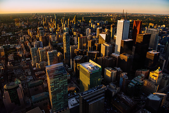 Toronto, view from the TC tower